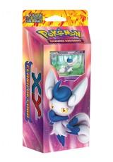 Pokémon XY2 Flash de Fogo Deck Inicial - Tufão Místico (Meowstic)