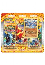 Pokémon XY2 Flash de Fogo Triple Pack - Machamp