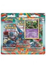 Pokémon XY3 Punhos Furiosos Triple Pack - Trevenant