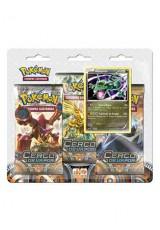 Pokémon XY11 Cerco de Vapor Triple Pack - Rayquaza