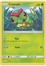 Caterpie - SM01/001 - Common