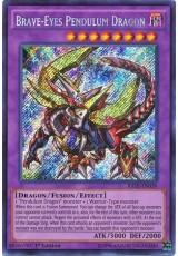 Brave-Eyes Pendulum Dragon - RATE-EN039 - Secret Rare