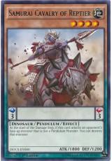 Samurai Cavalry of Reptier - DOCS-EN000 - Rare