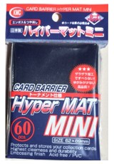 Deck Protector KMC Mini (60 Sleeves) - Hyper Mat Blue
