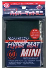 Deck Protector KMC Mini (60 Sleeves) - Hyper Mat Green