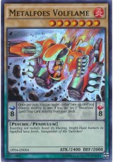 Metalfoes Volflame - OP04-EN004 - Super Rare