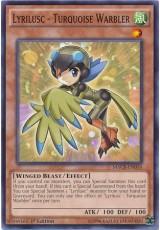 Lyrilusc - Turquoise Warbler - MACR-EN014 - Common
