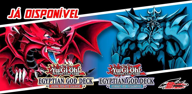 Já estão disponíveis as avulsas Yu-Gi-Oh! Deck de Deuses Egípcios!