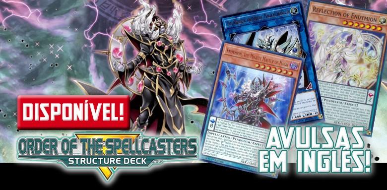 Avulsas Yu-Gi-Oh! Order of Spellcaster em inglês disponíveis!