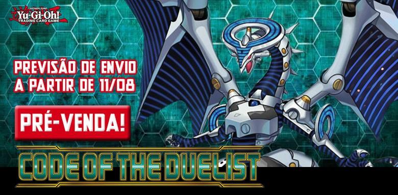 PRÉ-VENDA - AVULSAS YU-GI-OH! Code of the Duelist!