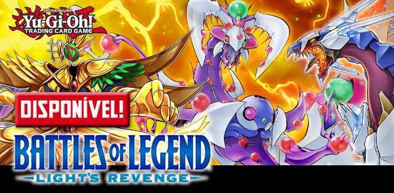 AVULSAS YU-GI-OH! Battles of Legend: Light's Revenge disponíveis!