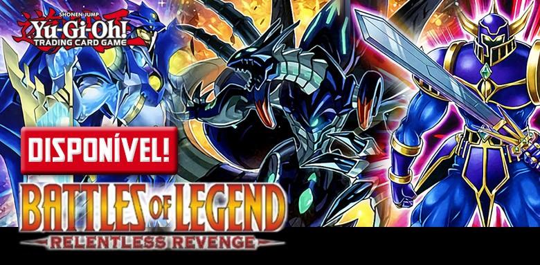 Yu-Gi-Oh! Batalha das Lendas: Vingança Implacável, já disponível!
