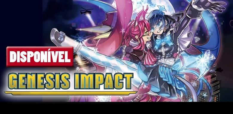 Já disponíveis as avulsas Yu-Gi-Oh! Genesis Impact!