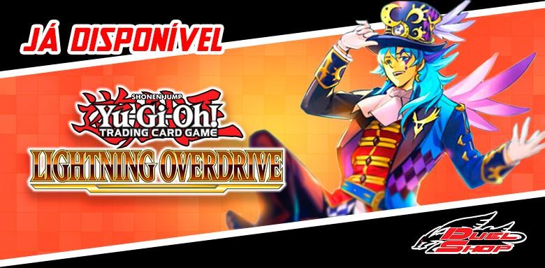 Já estão disponíveis as avulsas de Yu-Gi-Oh! Lightning Overdrive!