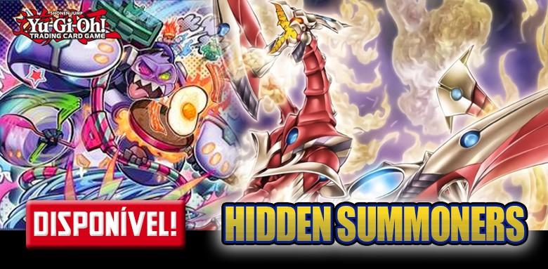 Yu-Gi-Oh! Invocadores Ocultos avulsas disponíveis !