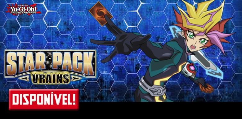 AVULSAS YU-GI-OH! Star Pack V-Rains disponíveis!