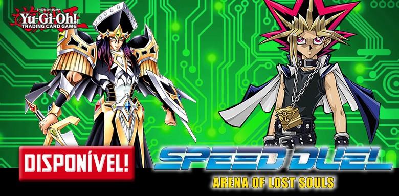 Avulsas Yu-Gi-Oh! Arena das Almas Perdidas disponíveis!