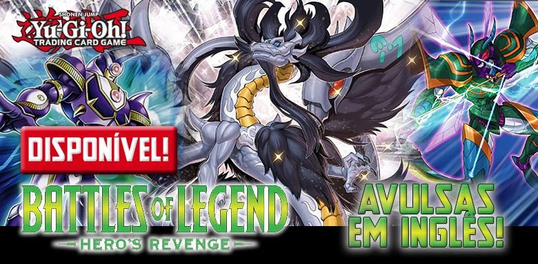 Yu-Gi-Oh! Battle of Legend Hero's Revenge disponível!