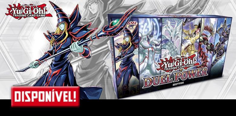 Avulsas em inglês de Yu-Gi-Oh! Duel Power disponíveis!