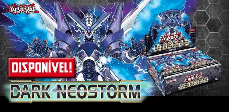 Yu-Gi-Oh! Neotempestade Negra disponível!